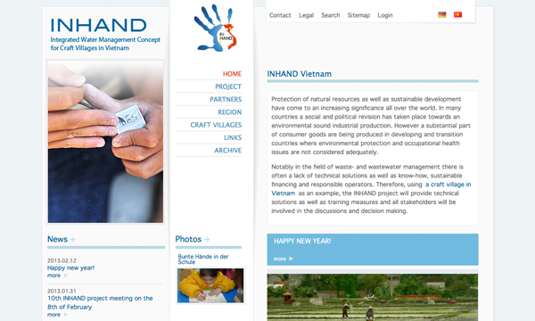 preview inhand project site
